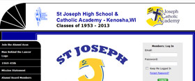 St Joseph High School & Catholic Academy - Kenosha,WI